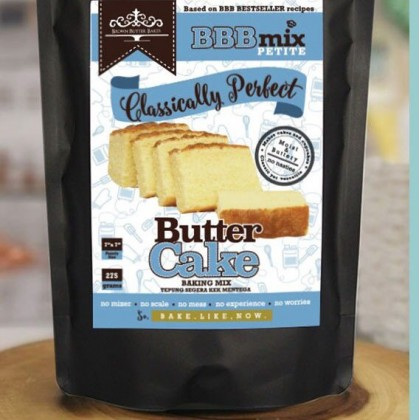 Brown Butter Bakes - Petite Butter Cake